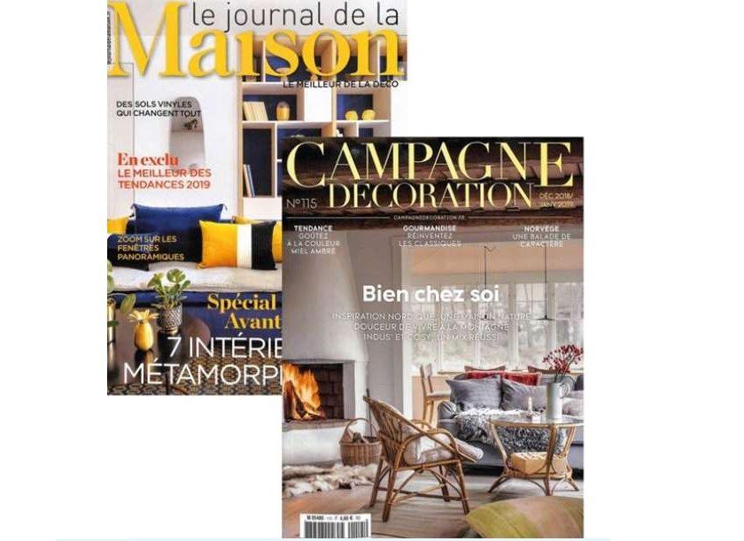 Abonnement Journal de la Maison + Campagne décoration pas cher