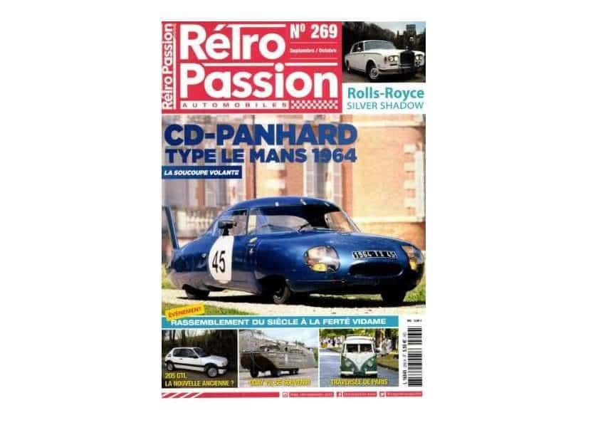 Abonnement pas cher à Rétro Passion Automobiles magazine