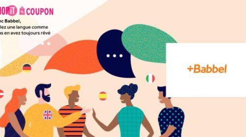Apprenez des langues avec Babbel pour moins cher