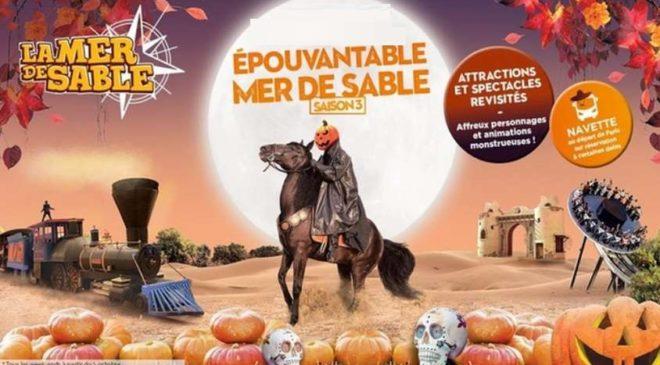 Billet Halloween à La Mer de Sable moins cher