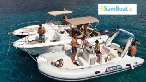 Bon d'achat Samboat location de bateau entre particulier