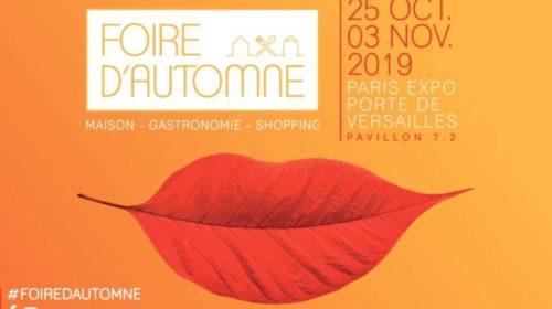 Entrée Foire d'automne 2019 de Paris moins chère