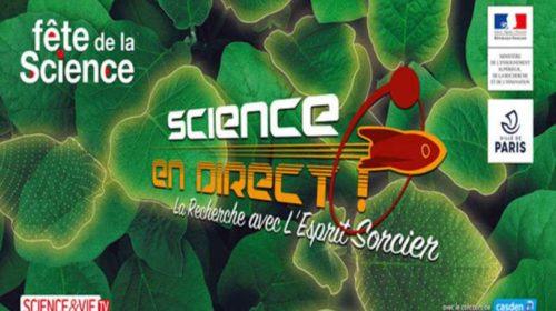Fête de la Sciences 2019 le 5 et 6 octobre