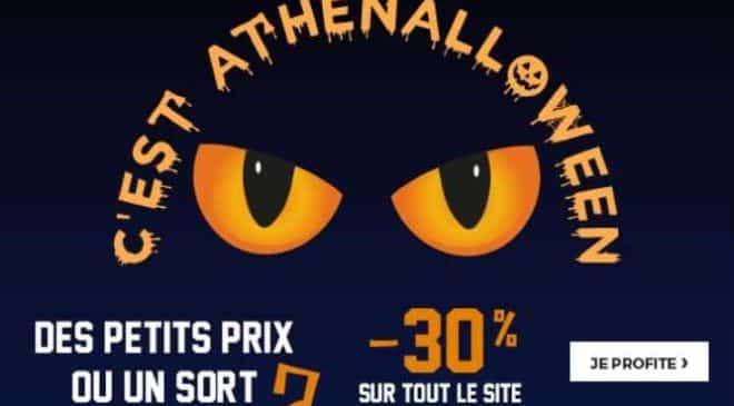 Halloween Athéna remise sur tous les sous-vêtements hommes, femmes et garçons