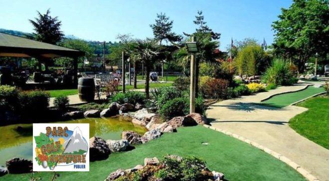 Mini-Golf au Parc Golf Aventure pas cher