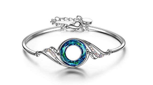 Moins de 10€ le bracelet femme avec cristaux de Swarovski Kate Lynn