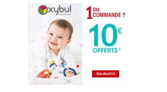 Nouveau client Oxybul 10€ de remise