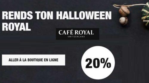Offre Café Royal Halloween