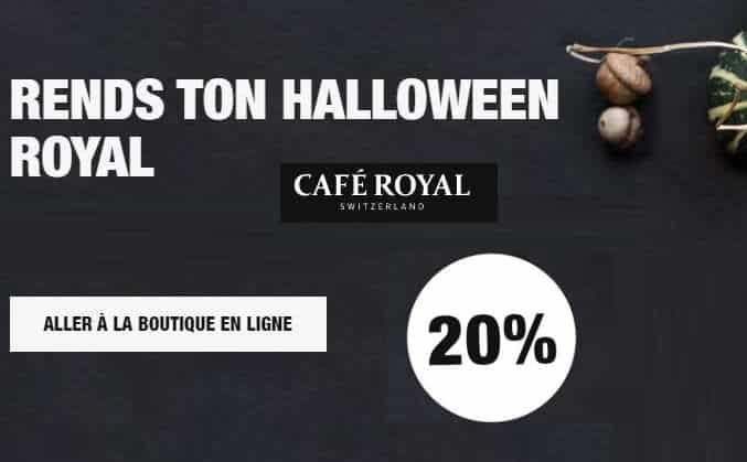 Offre Café Royal Halloween