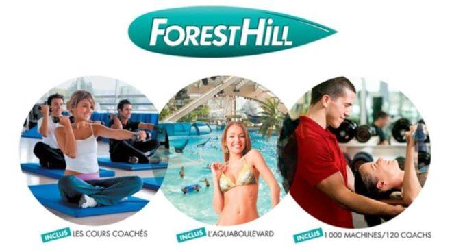Offre Forest Hill abonnement illimité Aquaboulevard inclus