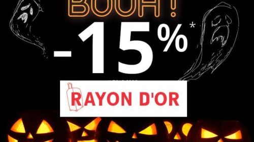 Offre Rayon d'OR pour Halloween