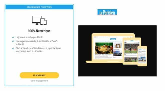 Offre Abonnement Magazine Le Parisien 7,99€ Mois