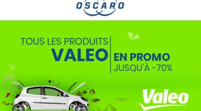 Offre spéciale Valeo sur Oscaro