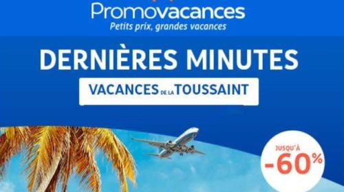 Offres dernières minutes pour la Toussaint de Promovacances