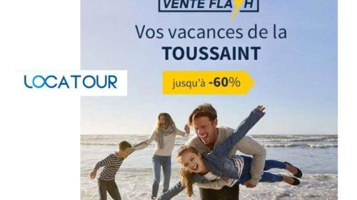 Vente Flash Locatour vacances de la Toussaint