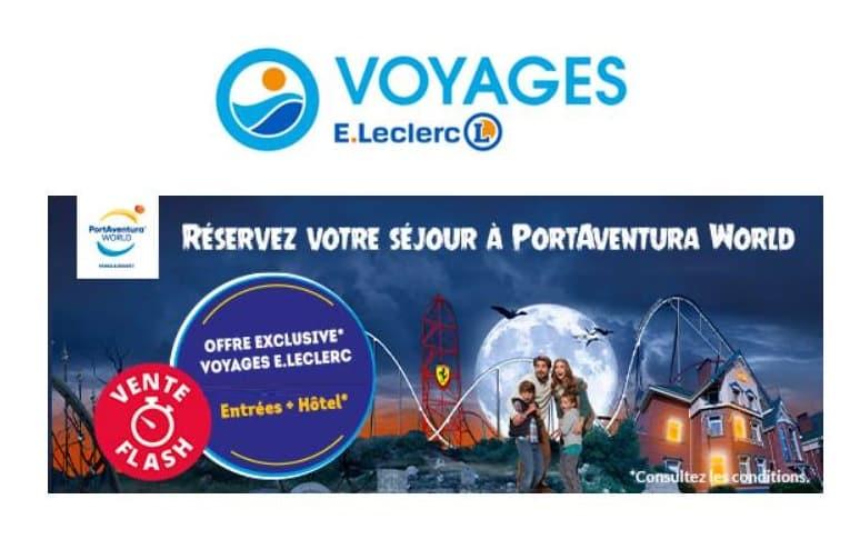 Vente flash séjour PortAventura Leclerc Voyages