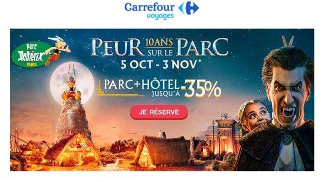 Vente flash séjour au Parc Astérix Carrefour Voyages