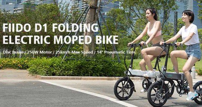 Vente flash vélo électrique pliable FIIDO