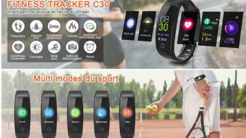 bracelet connectée écran couleur Elegiant C30