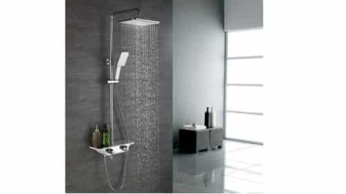 colonne de douche avec mitigeur thermostatique et 3 sorties