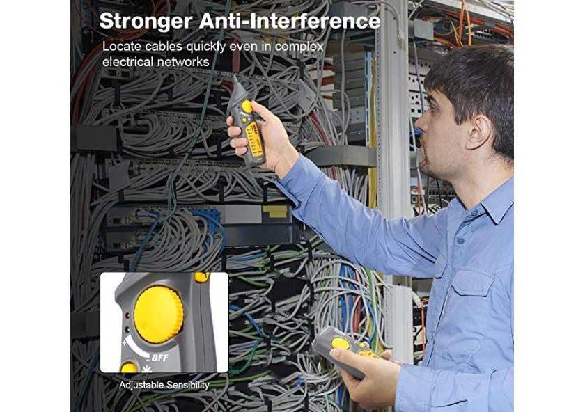 détecteur testeur de câbles réseau, téléphonique Urceri