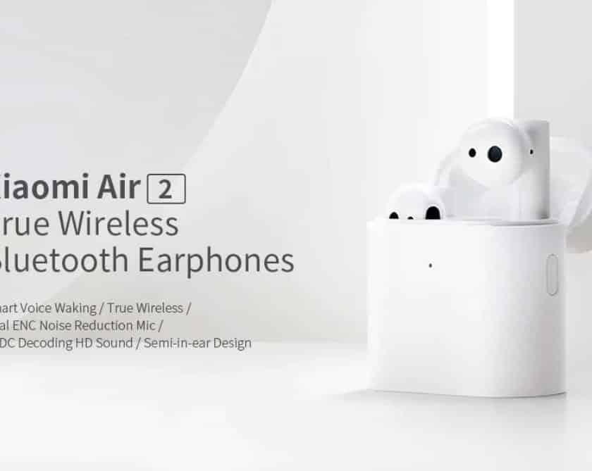 écouteurs Bluetooth Xiaomi Air 2 nouvelle génération - design AirPods