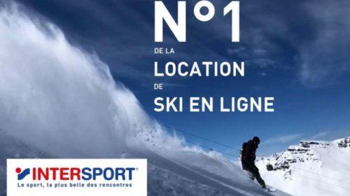 réduction sur votre équipement de ski en location Intersport