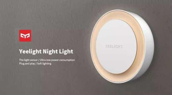 veilleuse automatique basse consommation Yeelight Xiaomi