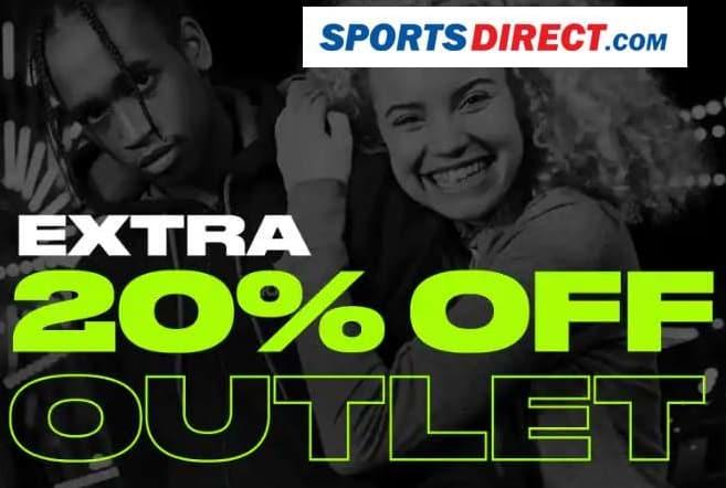 20% de remise supplémentaire sur Outlet Sports Direct