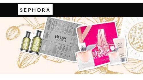 25% de reduction sur tous les coffrets parfums sur Sephora