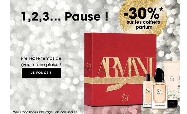 30% De Reduction Sur Tous Les Coffrets Parfums Sur Sephora