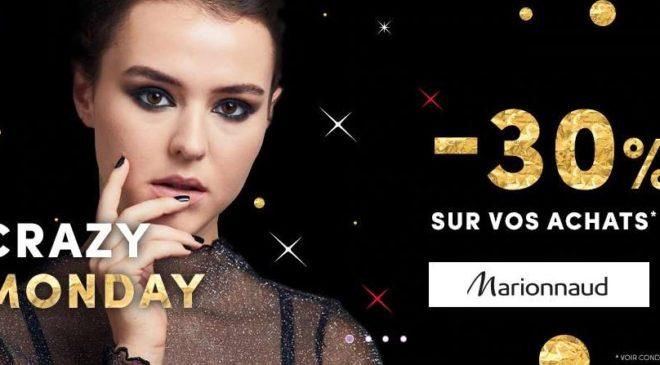 30% de remise sur tout le site Marionnaud pour le Single's Day