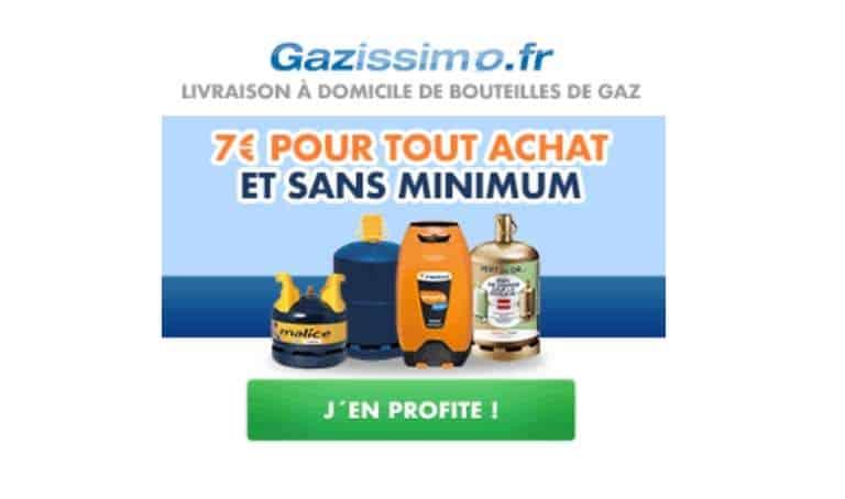 7€ de remise votre commande Gazissimo