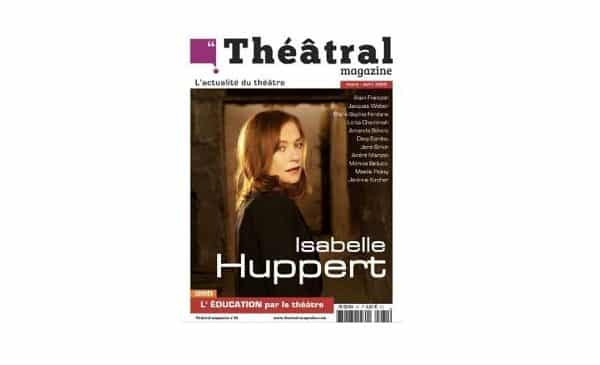 Abonnement à Théâtral Magazine Pas Cher