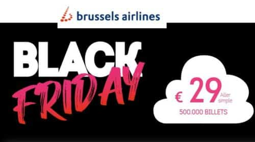Black Friday Brussels Airlines