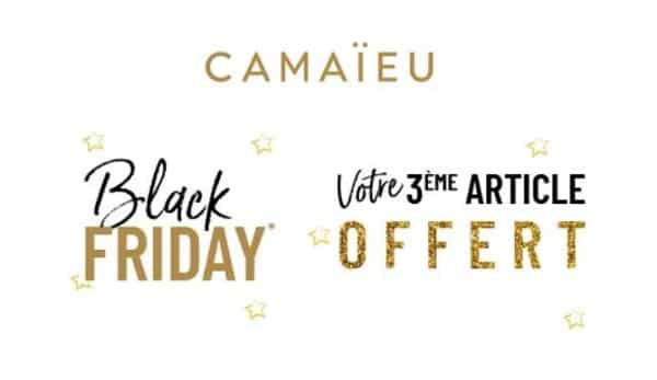 Black Friday Camaïeu