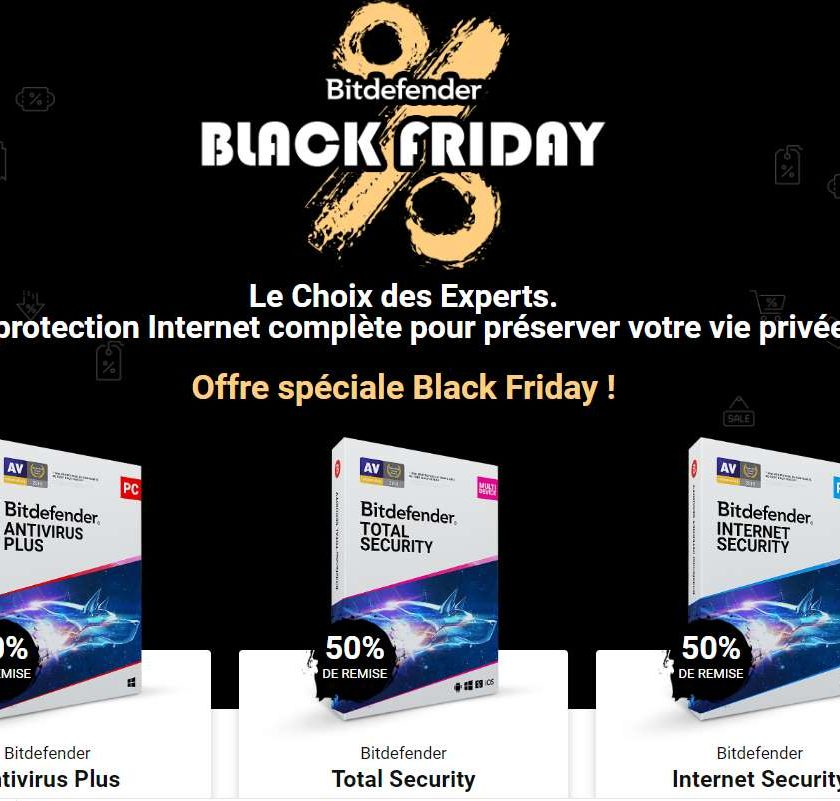 Black Friday Days Bitdefender