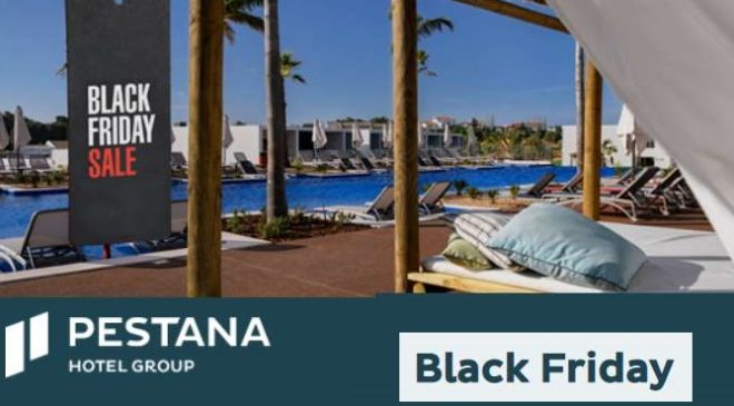 Black Friday Pestana hôtels