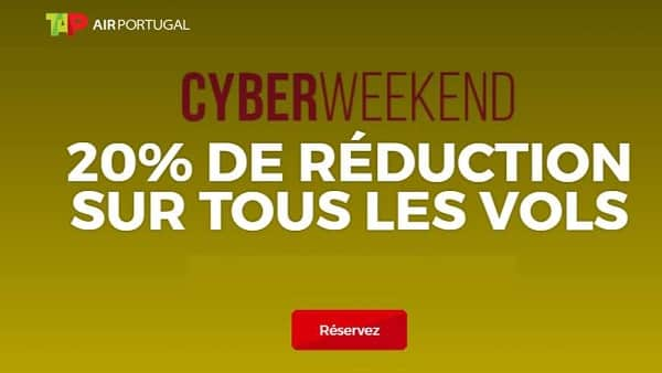Black Friday TAP Portugal - CyberWeekEnd
