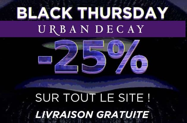 Black Friday Urban Decay
