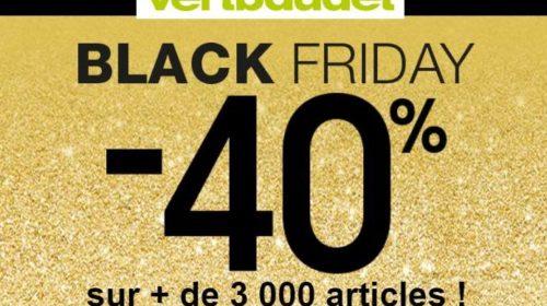 Black Friday Vert Baudet 40% de remise sur plus de 3000 articles