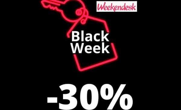 Black friday Weekendesk