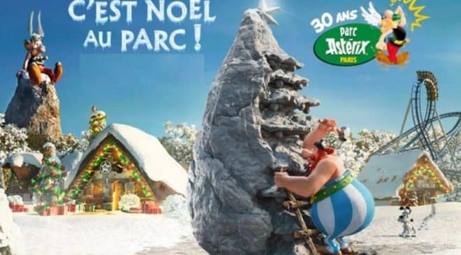 Entrée vacances de Noël pour le Parc Astérix à tarif réduit