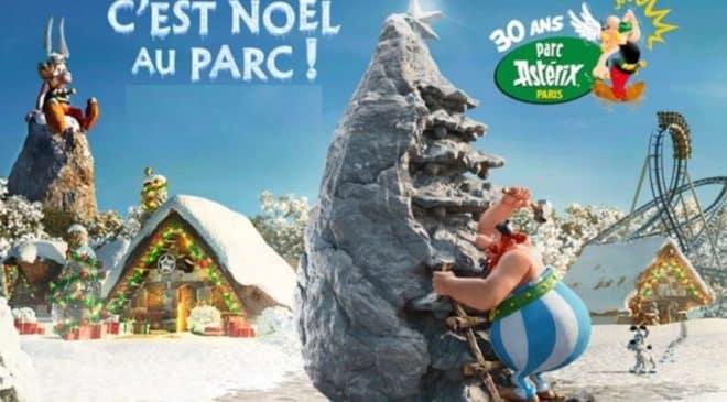 Entrée vacances de Noël pour le Parc Astérix à tarif réduit : 30€ tarif unique