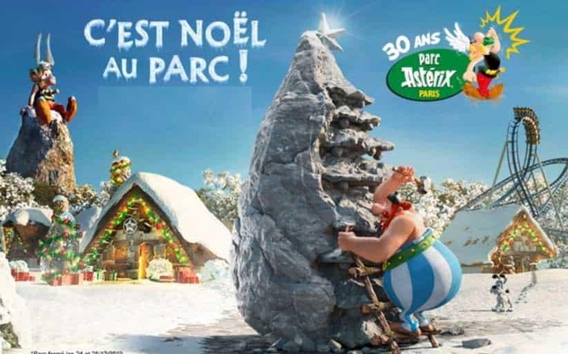Entrée vacances de Noël pour le Parc Astérix à tarif réduit