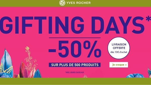 Gifting Days Black Friday Yves Rocher