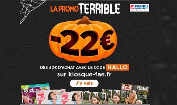 Halloween 22€ De Remise Sur Les Abonnements Magazines