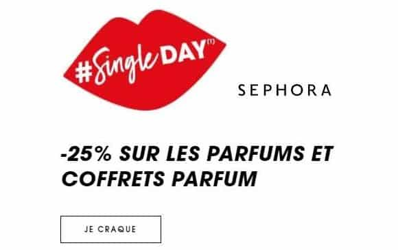 Offre Single day Sephora