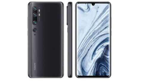 Offre flash de lancement smartphone Xiaomi Mi Note 10