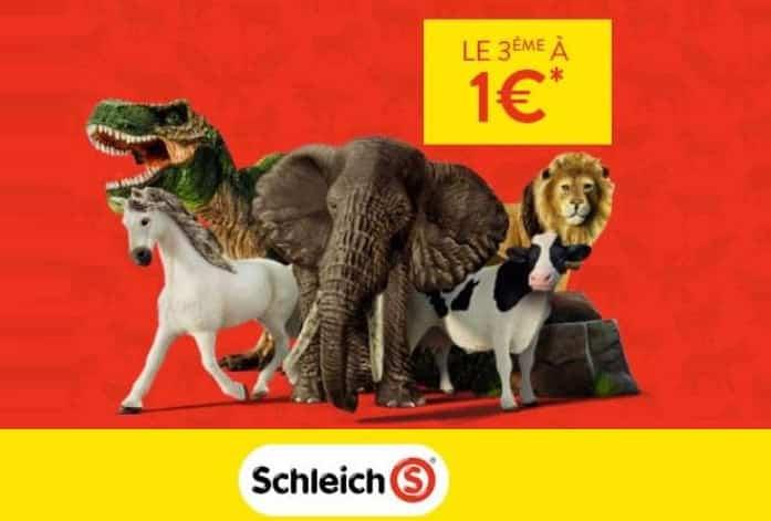 Offre remboursement figurines Schleich